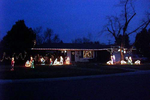 Christmas Nativity Lights